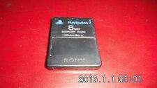 Carte Mémoire Officielle Sony PlayStation 2 PS2 - 8MB - Pal