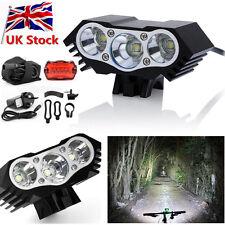 20000Lm 3 x CREE XML T6 LED Front Headlamp Bicycle Bike Light Torch Headlight DB