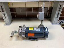 Goulds Pumps Model G&L Series NPE Size 1x1-1/4-6 IMP.DIA 6-1/8 Franklin Electric