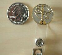 Medtronic Medical Employee 5 Year Service Award Nametag Badge Hanger