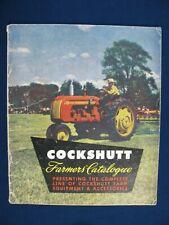 1950 Cockshutt Full Line Farmers Catalog 30 40 Tractor Combine