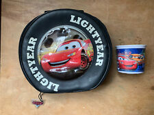 Cars Disney Lighting McQueen Lunch Box And Melamine Cup