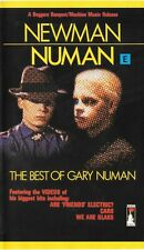 "GARY NUMAN ""Newman Numan - The Best Of"" 1982  UK PAL VHS tape"