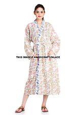Plus Size Women Robes Bridal Wedding Bride Gown Floral Kimono Sleepwear Indian