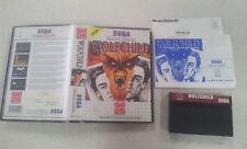 Wolfchild Sega Master System Boxed Complete PAL