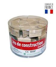 JEU DE CONSTRUCTION EN BOIS 65 TRIANGLES ARTISANTS du JURA