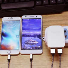 Dual USB UK Mains Fast Wall Charger Power Plug 5V/2A for Samsung S8 S9 iPhone8 X