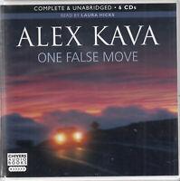 Alex Kava One False Move 6CD Audio Book Unabridged Crime Thriller FASTPOST