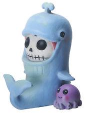 New Furrybones Furry Bones Moby Whale Skull Blue Skeleton Figurine Gift 8489