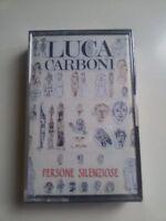 LUCA CARBONI PERSONE SILENZIOSE MC MUSICASSETTA Cassette Tape Sealed NUOVA NOS !