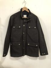Ernest Alexander Waxed Field Jacket. Sz S. Black. Barbour. Belstaff.