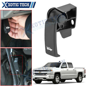 Hood Latch Release Pull Handle Repair Replacement Kit For Chevy Silverado GMC