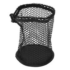 Black Nylon Mesh Net Bag Golf Tennis 48 Balls Carrying Drawstring Storage Pouch
