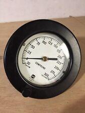 Usg Vacuum Pressure Gauge 0 300 Psi 5 Wide Steampunk Compound