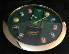 "Billiards 11"" Wall Clock Den Man Cave Family Room Décor"