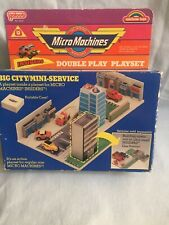 Micro Machines, Galoob, Insiders Double Play Playset, Boxed, Good Condition