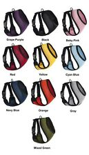 10 Colors 5 Sizes Mesh Padded Soft Puppy Pet Dog Harness Breathable Comfortable