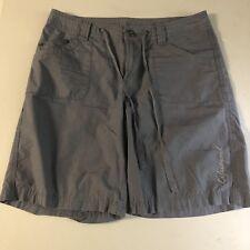 Womens LIFE IS GOOD Blue Bermuda Shorts Lightweight Size 4 NICE!