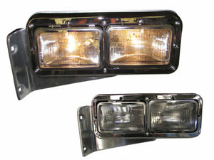 OUTLAW CUSTOM PETERBILT 378 379 LEFT DRIVER HEADLIGHT ASSEMBLY W/O SIGNAL PT0148