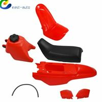 NEW Plastic Fender Body Seat Gas Tank Kit for Yamaha PW50 PY50 Red