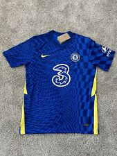 (LARGE) Christian Pulisic #10 Chelsea 21/22 Home Football Jersey Men's Soccer