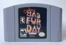 Nintendo 64 N64 Conker's Bad Fur Day Authentic Video Game Cartridge