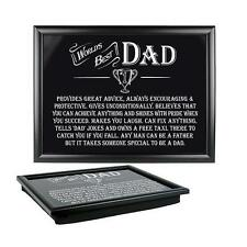 Ultimate Gift For Man 8819 Best Dad Lap Tray
