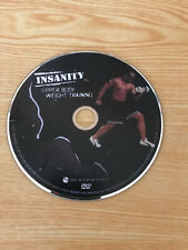 Insanity Upper Body Weight Training Replacement Disc ONLY
