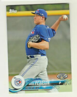 2018 Topps Pro Debut #86 NATE PEARSON RC Rookie Toronto Blue Jays QTY AVAILABLE