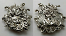 Medusa Silver Coin Greek Mythology Snakes Hair Beautiful Lady Ancient History UK
