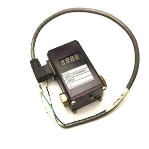 "Proportion-Air DQPV1TFEE080CX Pressure Control Valve, 1/8""NPT, 0-80PSI, 0-10VDC"