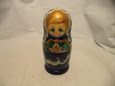 Russian Nesting Dolls Folk Art Wood Wooden Figures, Loved By Children, Wood Toy