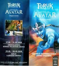 "Tour Flyer: Cirque du Soleil ""TORUK"""