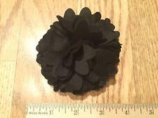 Black Buji Baja Flower Pin Button For Hat, Clothing Or Bag Decoration (Bujibaja)