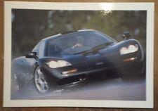 MCLAREN F1 orig 1993 UK Mkt Glossy Small Format Sales Brochure