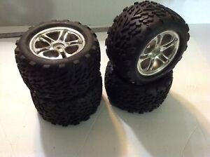 Traxxas Revo 3.3 wheels tires 14mm hub