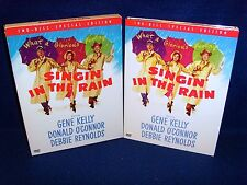 Singin' In the Rain (Dvd, 2002, 2-Disc, Special Edition) Mint Discs•No Scratches