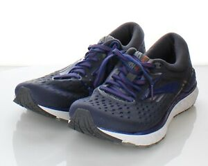 52-47 $150 Men's Sz 8.5 US Brooks Transcend 6  Running Shoes In Blue/Gray