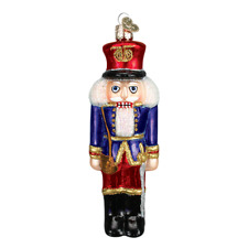 *Soldier Nutcracker* [44041] Old World Christmas Glass Ornament - NEW