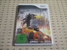 Transformers 3 stealth force Edition pour nintendo wii et wii u * OVP *