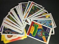 1988 Topps DINOSAURS ATTACK - Trading Card Set (55 Cards + 11 Stickers) - NM