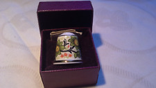 MUSEUM COLLECTION THIMBLE - WILLIAM MORRIS, ORCHARD in orig Past Times Box