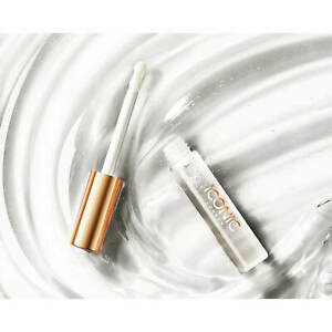 Iconic London Lustre Lip Oil Out Of Office. New 6ml. Clear Coconut Lip Gloss