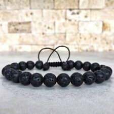 Fashion Beads Unisex Adjustable Men's Gift Women's Hot Lava Bracelet Yoga Rock