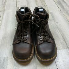 VTG Dr. Doc Martens 8542 High Top Chunky Women's 9 US Brown Leather Ankle Boots