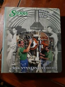 SIERRA RIFLE RELOADING MANUAL 50th Anniversary Edition - Binder VG - FREE S&H!
