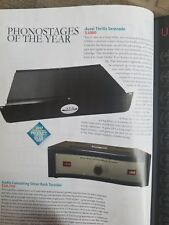 Serenade phono preamplifier no tubes MC/MM USA TAS phonostage of the year