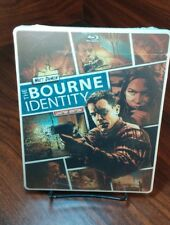 The Bourne Identity(Blu-ray/DVD+Digital,2014,2-Disc Set)NEW-Free S&H-Box Packing