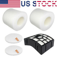HEPA Foam & Felt Filter Kit For Shark Rotator NV650 NV750W NV751 XFF650 XHF650