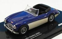 Vitesse 1/43 Scale Model Car 22003 - Austin Healey 3000 - Ocean Blue/Ivory